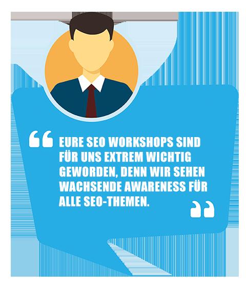 SEO Workshops buchen